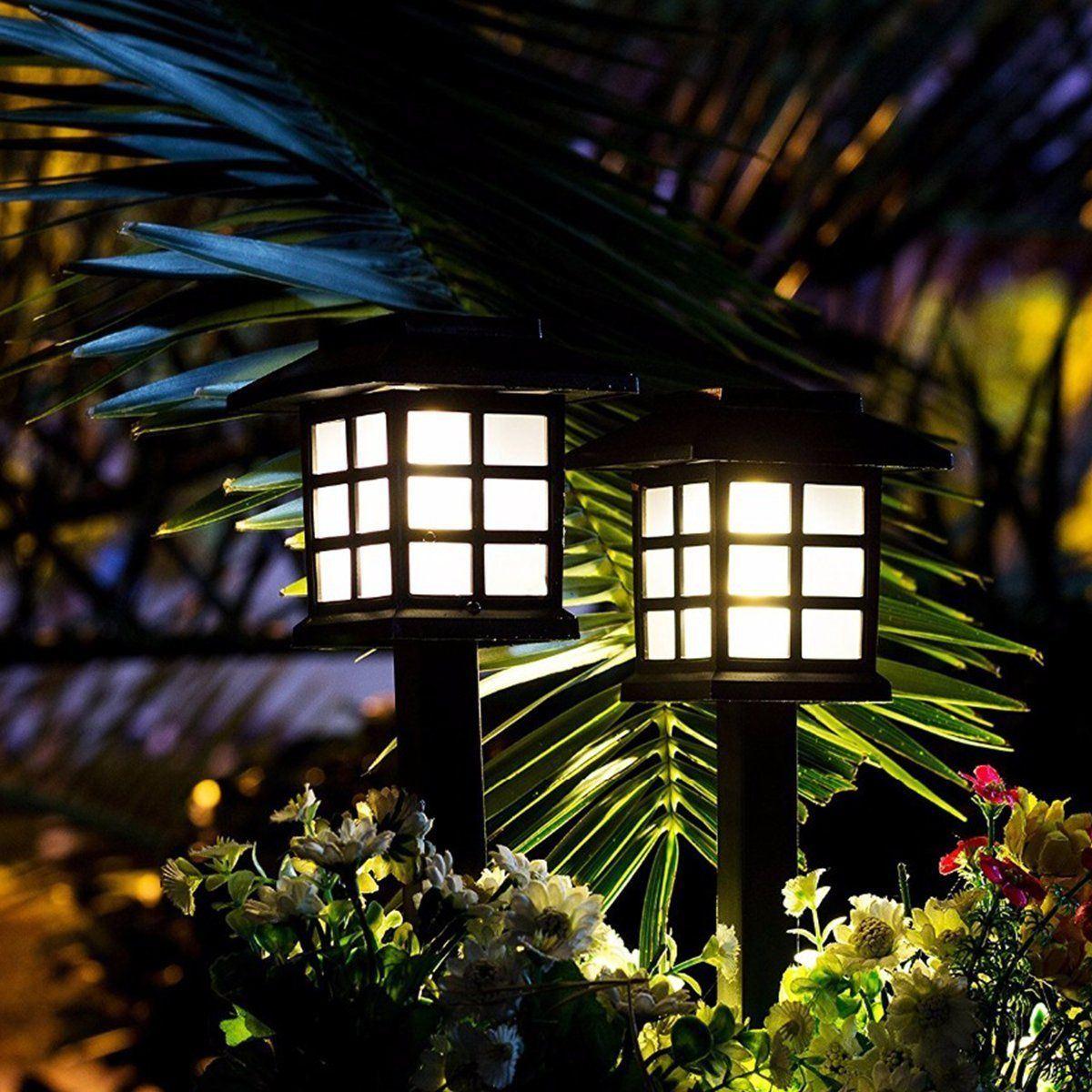Kültéri Napelemes Kerti Lámpa 2 db-os